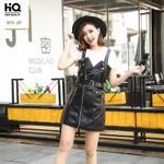Black Sashes Zipper High Waist Sexy Club Mini Short Dress