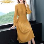 Fashion Midi Party Vintage Vestido Mujer Dresses