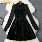 Clothes Black Party Dress Office Dress Elegant