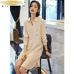 Office Lady Beach Dress Elegant Party Dresses