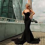 Sexy Wrapped Chest Asymmetric Maxi Party Dress