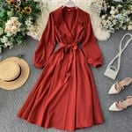 Clothes Vintage Clothes Red Long Party Dress