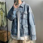 Jean Jacket Denim Jackets Fashion Casual Loose Streetwear