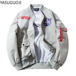 Thin Bomber Jacket Hip Hop US Air Force Pilot Flight