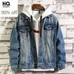 Vintage Hole Ripped Casual Washed Denim Jackets