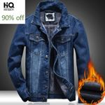 Thick Fleece Liner Warm Denim Jackets Fashion
