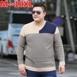 V-Neck Slim Fit Sweater Fashion Pullover