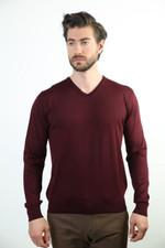 Sweater V Collar Wool Sweater