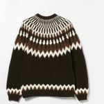 Vintage Fall Knitting Sweaters Long Sleeve