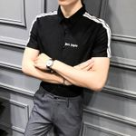 Embroidery Short Sleeve Clothing Casual Social Shirts
