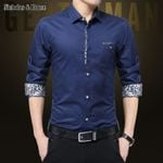 Business Dress Shirts Cuff Fashion Tops