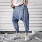 Brand New Slim Fit Casual Denim Harem Pants