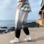 Gradient Color Street wear trousers Hip Hop