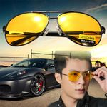 Night Driving Glasses HD Vision Yellow Lens