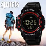 Luxury LED Digital Waterproof Sport Quartz Watch