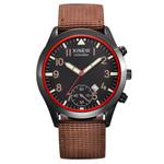 Nylon Sports Quartz Wrist Watches Calendar