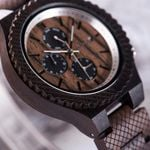 BOBOBIRD Ebony Male Timepieces Quartz Wristwatches