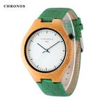 Creative Bamboo Wood Simple Stylish Watches
