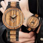 Vintage Fashion Wooden Watches Minimalist