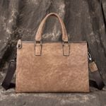 Genuine Leather Retro Handbag Casual First Layer