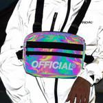 Hip Hop Boy Street Reflective Chest Bag