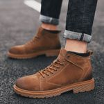 Ankle outdoor Genuine Leather Martins Boots