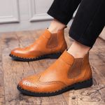 Boots outdoor Comfortable brogue Brand Casual