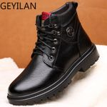 Genuine Leather Boots fashion Ankle Boots