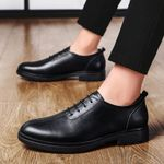 Shoes Top Quality Oxfords genuine Leather Dress Shoes