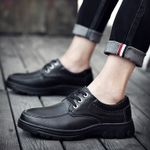 business shoes Gentleman's Lace-Up Dress shoes