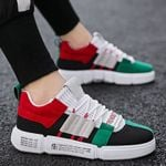 Mixed Colors Casual Shoes Fashion Brand White Sneakers