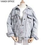 Boho Denim Coat New Vintage Bohemian Jacket