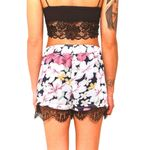 Short Feminino Fashion Shorts Floral Print