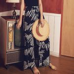 Beach Fashion Boho Casual Wide Leg Pants