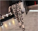 chiffon harem pant female loose casual pants