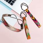 Boho Embroidery Headbands Girls Bezel Hair Accessories