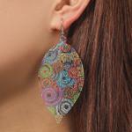Bohemian Boho Earring Jewelry Accessories Ethnic