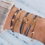 Bohemian Love Star Moon Charm bracelets