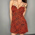 Sexy print Fit And Flare Floral Print Mini Dress