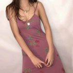 Vintage female Printed Holiday Retro sexy maxi dress
