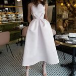 Runway Designer High Quality Long Maxi Party White Dress