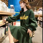 Thin Lotus Leaf Dress Fashion Casual Sweater