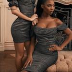 New Sexy Sleeveless Pleats Fashion Wrap dress