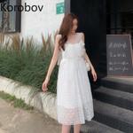 Off Shoulder Boho Beach Style Dress