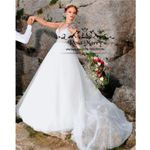 Luxury Plus Size Boho Wedding Dresses