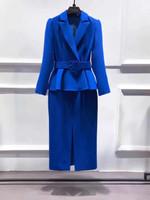 fashion blazer dress elegant ruffles office