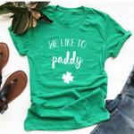 Funny Drinking T Shirts Unisex Lucky St Patricks