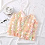 New Holiday Beach Sleeveless Camis Vest V Neck Retro