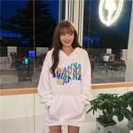 Hoodie Sweatshirt Letter Printed Pullover Hoodies