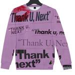 Thank U Next Clothes Casual Hoodies Sweatshirts